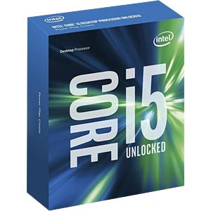 Intel Core i5-6600K, 4x 3.5 GHz, boxed, 1151 INTEL BX80662I56600K