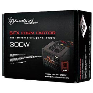 SilverStone SFX 300 W power supply unit SILVERSTONE SST-ST30SF