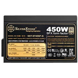 SilverStone Gold SFX 450 W power supply unit SILVERSTONE SST-ST45SF-G