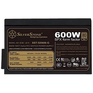 SilverStone Gold SFX 600 W power supply unit SILVERSTONE SST-SX600-G