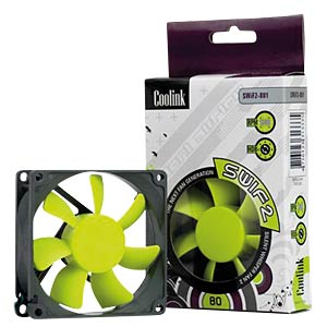COOLINK SWIF2 80P, 80mm Fan COOLINK SWIF2 80P