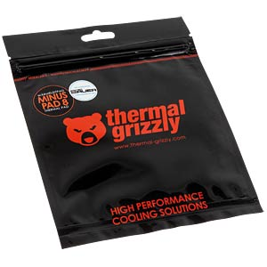 Minus Pad 8 - 100 x 100 x 2 mm THERMAL GRIZZLY TG-MP8-100-100-20-1R