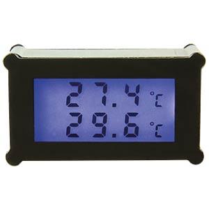 PC-Gehäuse-Thermometer Kama Thermo 3 SCYTHE TM03-BK