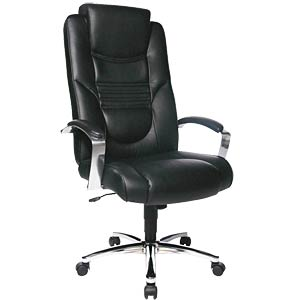 Topstar Soft Lux executive chair, black TOPSTAR 8329D60
