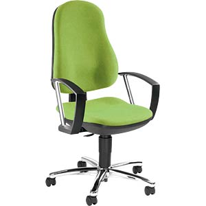Topstar Support P Deluxe office chair, apple green TOPSTAR 8549AG05