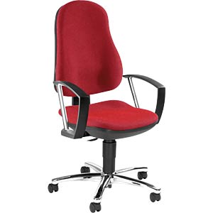Topstar Support P Deluxe office chair, red TOPSTAR 8549AG21