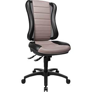 Topstar Bürostuhl Head Point RS grau, schwarz TOPSTAR HE300 S103