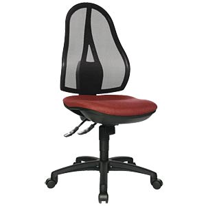 Topstar Open Point SY office chair, bordeaux TOPSTAR OP200G27