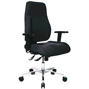 Topstar Point 91 office chair without armrests, black TOPSTAR PI99GBC0