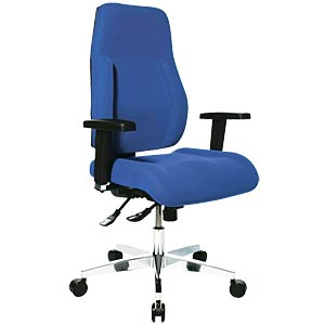 Topstar Point 91 office chair without armrest, blue TOPSTAR PI99GBC6