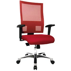 Topstar Nito office chair, red TOPSTAR PRONETSYT31