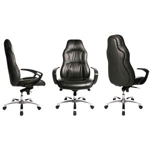 Topstar RS1 leather executive chair, black TOPSTAR RS90F AD0