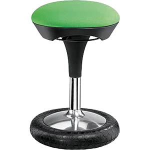 Topstar Sitness 20 fitness stool, apple green TOPSTAR SI69G05