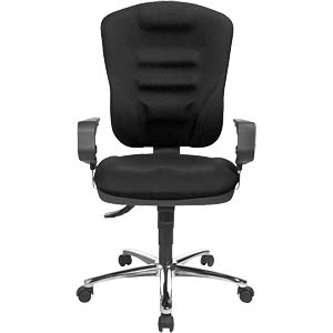Topstar Softec Synchro Deluxe office chair, black TOPSTAR SOFTEC BC0