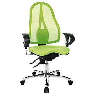 Topstar Sitness 15 office chair, apple green TOPSTAR ST19UG05