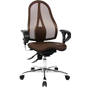 Topstar Sitness 15 office chair, brown TOPSTAR ST19UG08