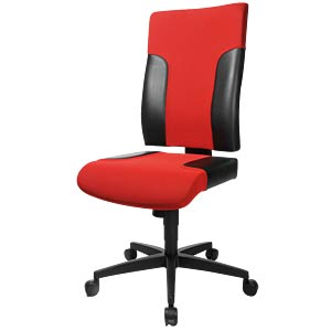 Topstar Two 20 office chair, black TOPSTAR TF200 S101