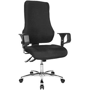 Topstar Top Point Deluxe office chair, black TOPSTAR TOPDG20