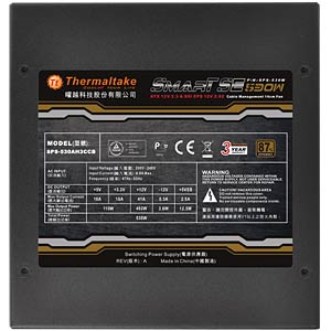 Thermaltake Smart SE 530W ATX 2.3 THERMALTAKE SPS-530MPCBEU