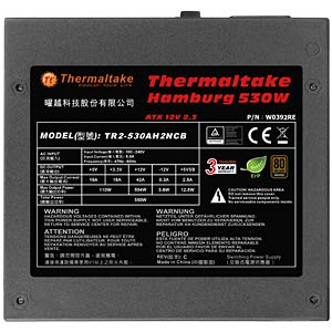 Thermaltake Hamburg 530 W ATX 2.3 THERMALTAKE W0392RE