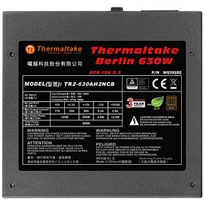 Thermaltake Berlin 630 W ATX 2.3 THERMALTAKE W0393RE
