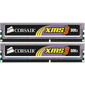 4 GB DDR3 1333 CL9 Corsair 2-piece set CORSAIR TW3X4G1333C9A