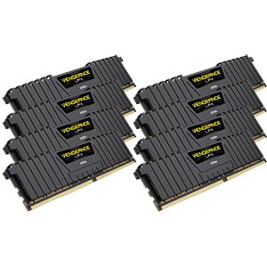 64 GB DDR4 2666 CL16 Corsair 8er Kit CORSAIR CMK64GX4M8A2666C16