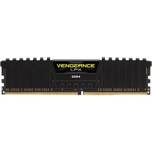 16 GB DDR4 2666 CL15 Corsair 4er Kit CORSAIR CMK16GX4M4A2666C15