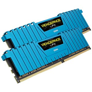 16 GB DDR4 3000 CL15 Corsair Kit of 2 CORSAIR CMK16GX4M2B3000C15B