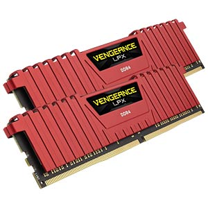 16 GB DDR4 2666 CL16 Corsair Kit of 2 CORSAIR CMK16GX4M2A2666C16R