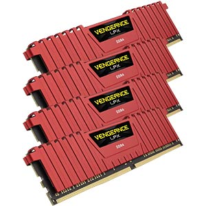 16 GB DDR4 2666 CL16 Corsair 4er Kit CORSAIR CMK16GX4M4A2666C16R