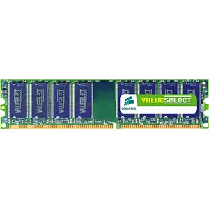 1GB DDR2 667 CL5 Corsair CORSAIR VS1GB667D2