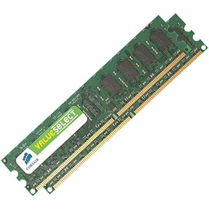 2048 MB DDR2 533 CL4 Corsair 2-piece set CORSAIR VS2GBKIT533D2