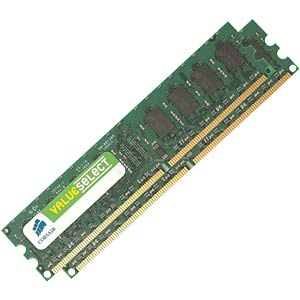 2GB DDR2 667 CL5 Corsair 2er Kit CORSAIR VS2GBKIT667D2