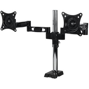 Dual monitor arm, aluminium, up to 20 kg/27 inch ARCTIC ORAEQ-MA004-GBA01