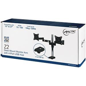 Monitor Halter, 2 Displays, Tischmontage, bis 20 kg, 27 ARCTIC ORAEQ-MA004-GBA01