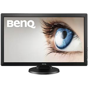61cm Monitor, Pivot, Lautsprecher, 1080p, EEK A BENQ 9H.LF5LA.TBE