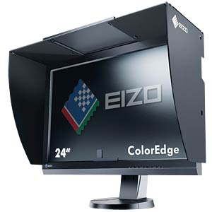 61cm - DVI/DP/HDMI/USB - Pivot - schwarz - EEK C EIZO CG247-BK