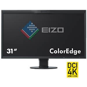 79cm Monitor, 2xUSB, mit Pivot, UHD, schwarz, EEK B EIZO CG318-4K
