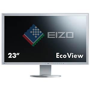 58 cm, VGA/DVI/DP/USB/Audio, pivot, grey — hotline for Germany: EIZO EV2316WFS3-GY