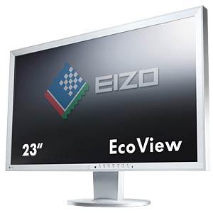 58cm Monitor, USB, Lautsprecher, mit Pivot, grau EIZO EV2316WFS3-GY