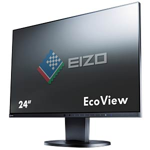 60 cm, VGA/DVI/DP/HDMI/USB/Audio, pivot, black, EEC A+ EIZO EV2450-BK