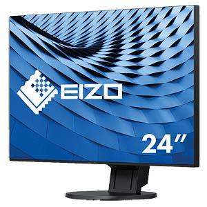 60cm Monitor, USB, Lautsprecher, mit Pivot, EEK A++ EIZO EV2451-BK