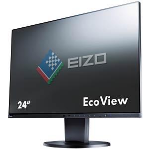 61cm - VGA/DVI/DP/HDMI/Audio/USB - Pivot - schwarz - EEK A+ EIZO EV2455-BK