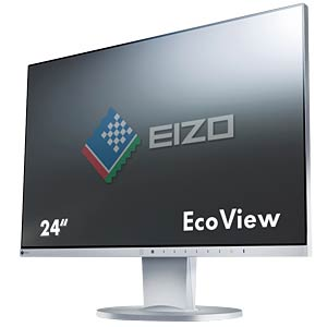 61 cm, VGA/DVI/DP/HDMI/Audio/USB, pivot, grey — EEC A+ EIZO EV2455-GY