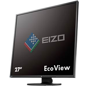 67 cm, DVI/DP/USB/Audio, black — 1:1 hotline: 0800/3496737 EIZO EV2730Q-BK