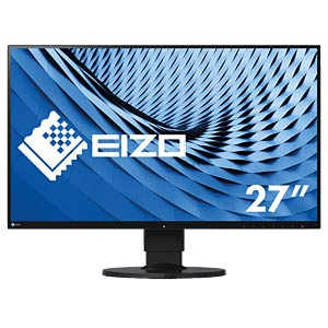 68cm Monitor, USB-C, Lautsprecher, mit Pivot EIZO EV2780-BK
