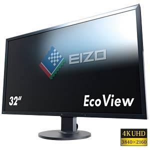 80cm Monitor, Lautsprecher, mit Pivot, UHD, schwarz, EEK A EIZO EV3237-BK