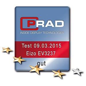 80cm - DVI/2xDP/HDMI/USB/Audio - Pivot - UHD - grau - EEK A EIZO EV3237-GY