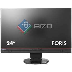60cm Monitor, 2xUSB, Lautsprecher, schwarz, EEK B EIZO FS2434-BK